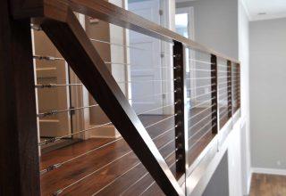 Craftsman Woodwork modern railing