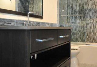 builder of custom modern bathrooms