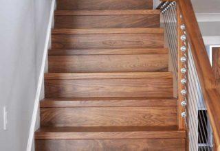 custom woodwork stairway