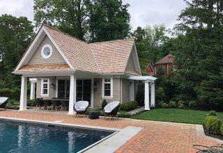 Custom fine homes / pool house