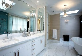 high end custom bathrooms