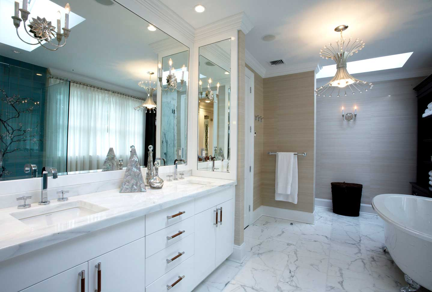 Cool Bathrooms And Vanities T Michaels Contracting Inc Beutiful Home Inspiration Semekurdistantinfo